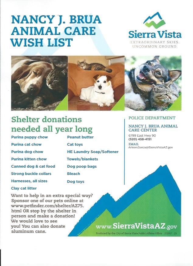 new wish list